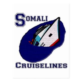 Somali Cruiselines Postcard