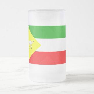 Somali Flag Frosted Glass Beer Mug