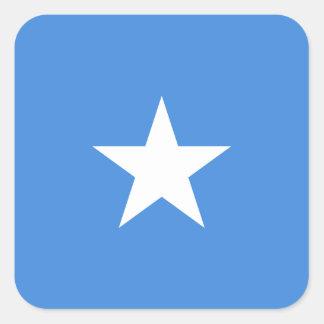Somali Flag Square Sticker
