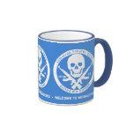 Somalí piratea el azul del sindicato local 69 taza de café