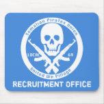 Somalí piratea la unión - oficina del reclutamient tapetes de raton
