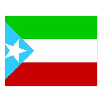 Somali Region Old, Ethiopia flag Postcard