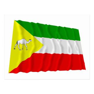 Somali Waving Flag Postcard