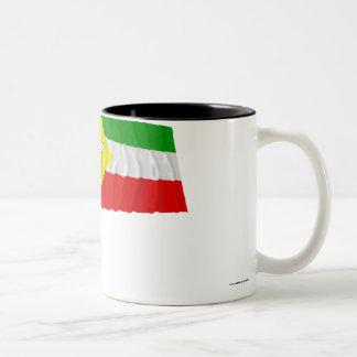 Somali Waving Flag Two-Tone Coffee Mug
