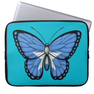 Somalia Butterfly Flag Laptop Sleeves