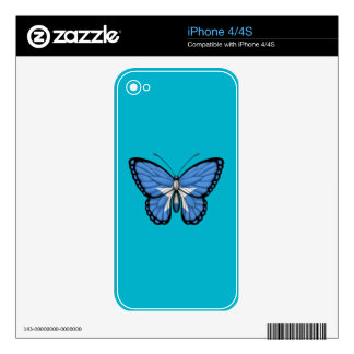 Somalia Butterfly Flag Skins For The iPhone 4S