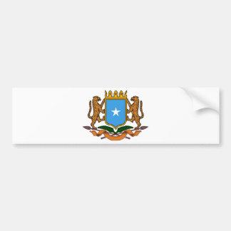 Somalia coat of arms bumper sticker