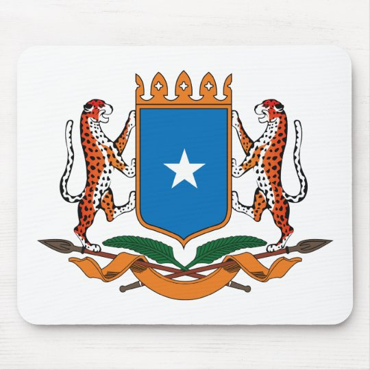 Somalia Coat of Arms Mousepad