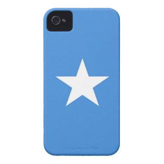somalia country flag case blue white star
