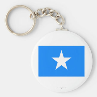 Somalia Flag Basic Round Button Keychain