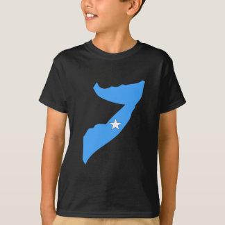 Somalia flag map T-Shirt
