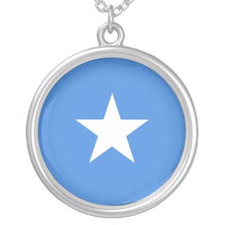 Somalia flag necklace