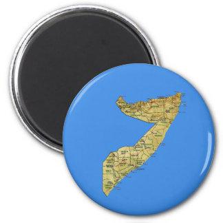 Somalia Map Magnet