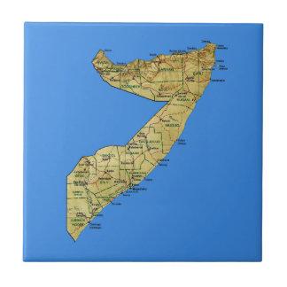 Somalia Map Tile