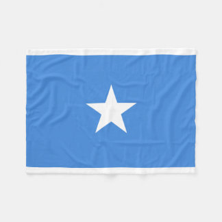 Somalia National World Flag Fleece Blanket
