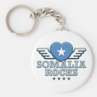 Somalia Rocks v2 Key Chain