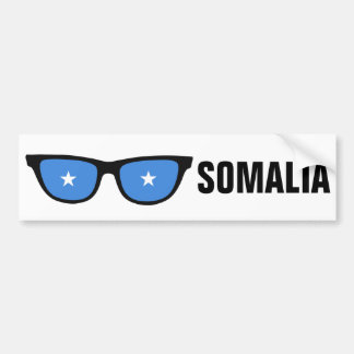 Somalia Shades custom bumpersticker Bumper Sticker