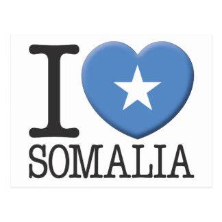 Somalia Tarjeta Postal