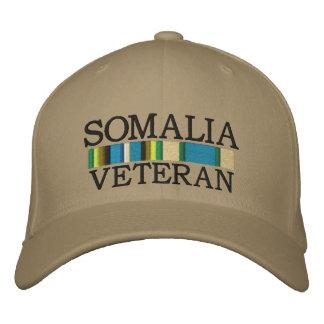 SOMALIA, VETERAN hat Embroidered Baseball Caps