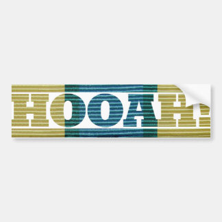 Somalia Veteran HOOAH! Sticker Car Bumper Sticker