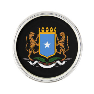 Somalian coat of arms pin