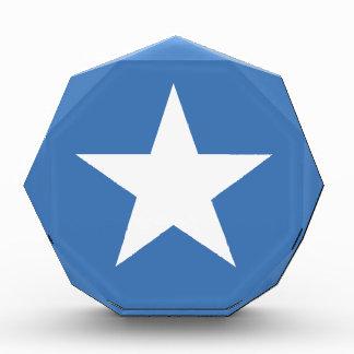 Somalian flag acrylic award
