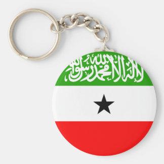 somaliland basic round button keychain