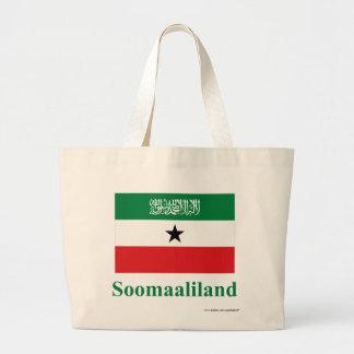 Somaliland Flag with Name in Somali Bag