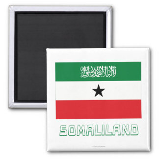 Somaliland Flag with Name Magnet