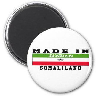 Somaliland Made In Designs Fridge Magnet