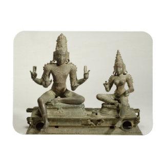 Somaskanda, Chola, Tamil Nadu (bronce) Imanes De Vinilo