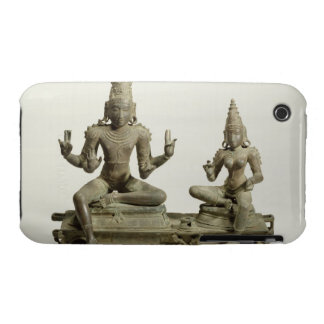 Somaskanda, Chola, Tamil Nadu (bronce) iPhone 3 Case-Mate Cobertura