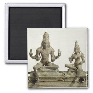Somaskanda, Chola, Tamil Nadu (bronze) Magnet