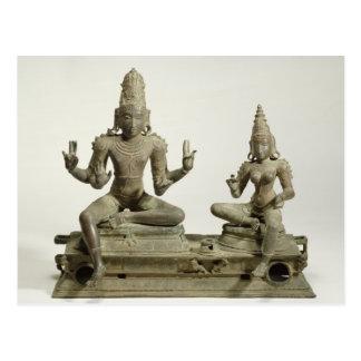 Somaskanda, Chola, Tamil Nadu (bronze) Postcard