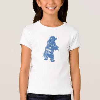Sombra azul Disney de Kenai del oso de Brother Playera