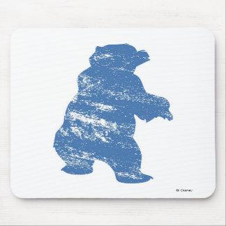 Sombra azul Disney de Kenai del oso de Brother Alfombrillas De Ratones