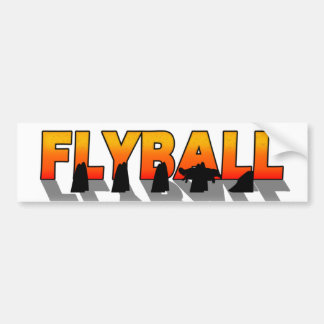 Sombra de Flyball Pegatina Para Auto