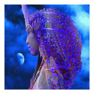 Sombra de la luna fotografía