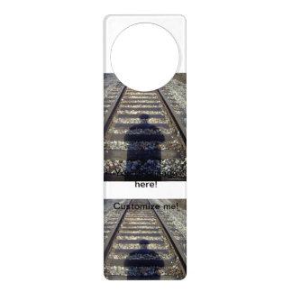 Sombra de la pista del tren colgante para puerta