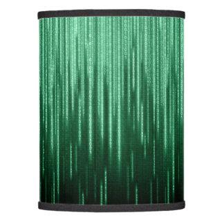 Sombra de lámpara binaria verde de la lluvia