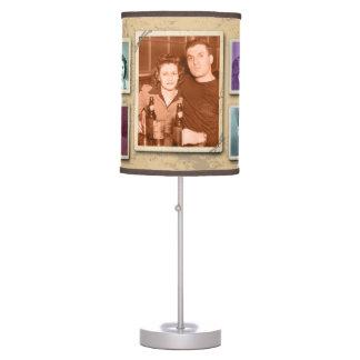 Sombra de lámpara de encargo de la foto de familia