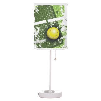 Sombra de lámpara de mesa del diseño del tenis