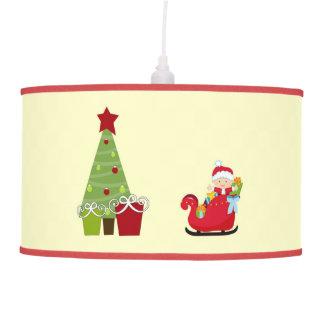 Sombra de lámpara del bebé del navidad