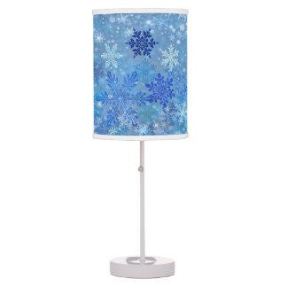 Sombra de lámpara del diseño del copo de nieve