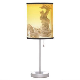 Sombra de lámpara del dragón