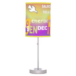 Sombra de lámpara - GeneraCion Benedecido