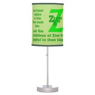 Sombra de lámpara - niño de Zion