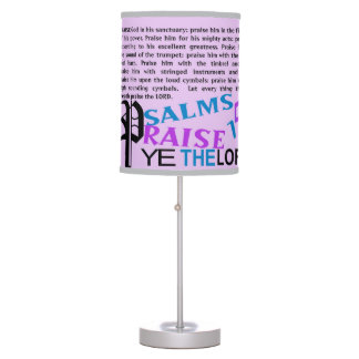 Sombra de lámpara - salmos 150