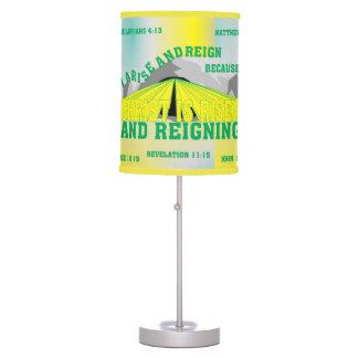 Sombra de lámpara - subida y reinado