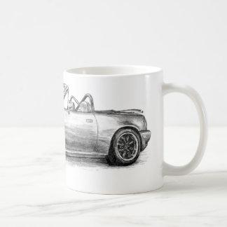 Sombra de plata MX5 Tazas De Café
